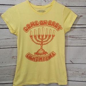 Menorah♡Come on Baby Light My Fire♡T-shirt